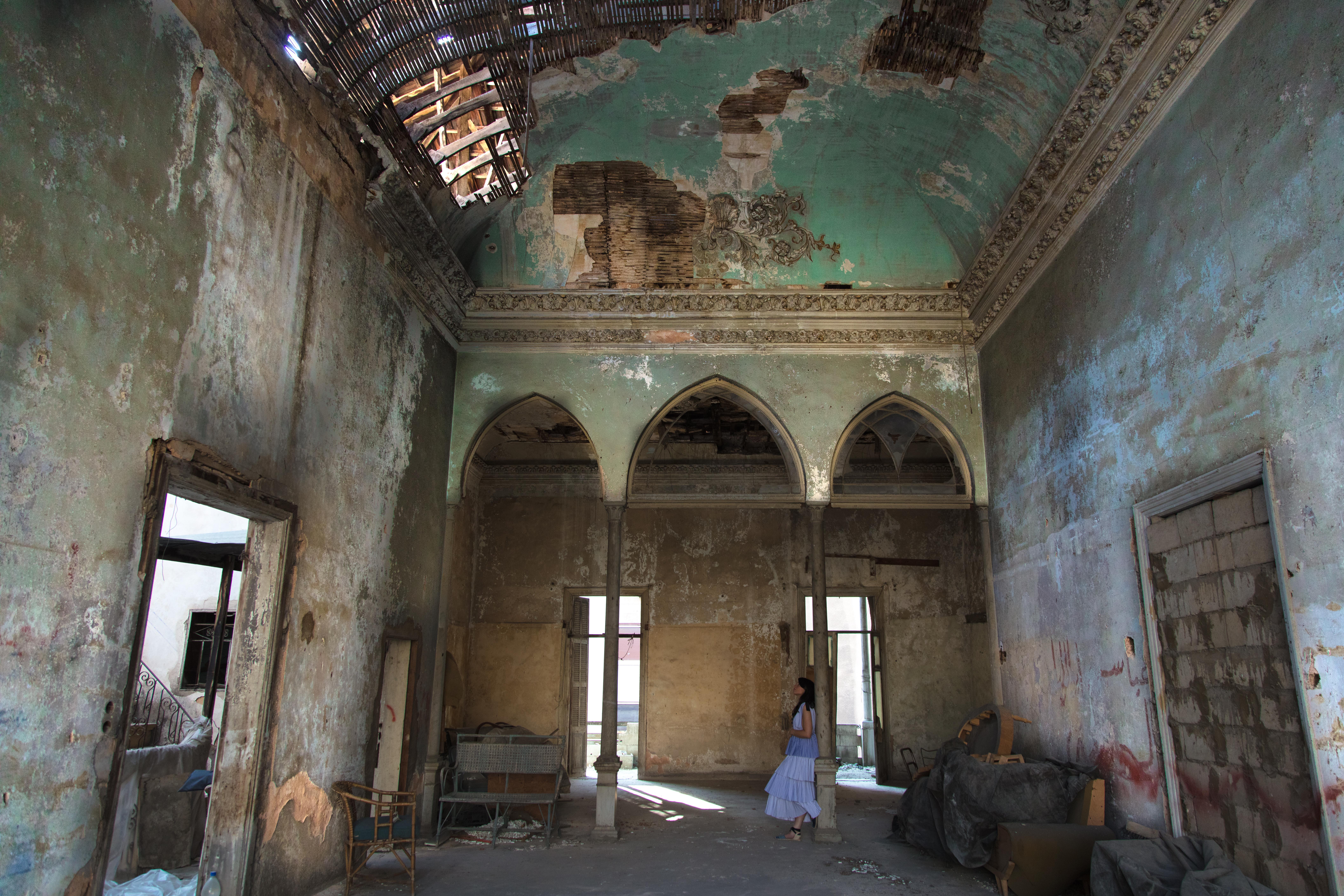 Bechara el-Khoury Abandoned Palace in Zokak el-Blat – Social